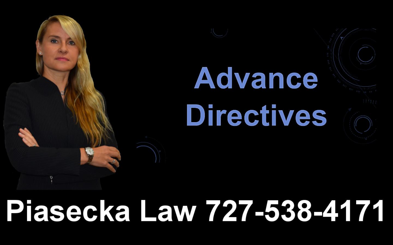 Advance Directives, Clearwater, Florida, Lawyer, Attorney, Agnieszka, Aga, Piasecka