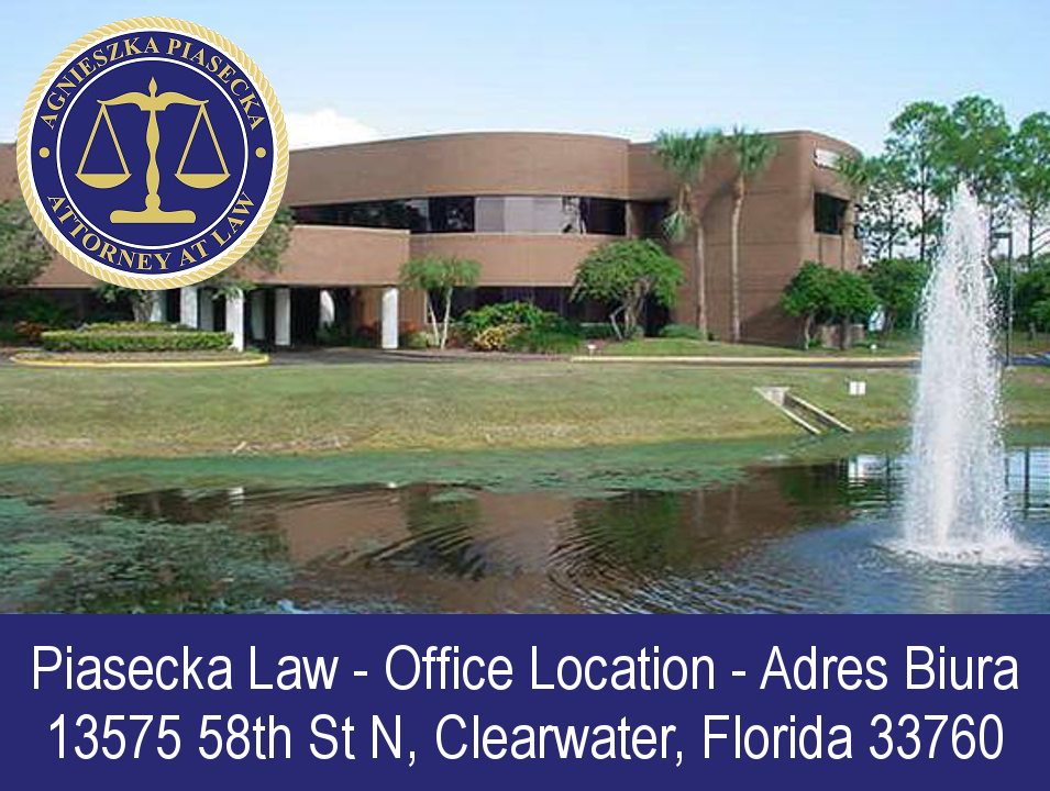 Office Location: 13575 58th St. N. Clearwater, Florida 33760